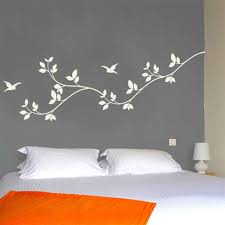 bedroom wall stickers leaves wall decal nature vinyl wall graphics