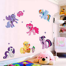 My Little Pony Bedroom Wall Decal Cute My Little Pony Wall Decals My Little Pony Decals