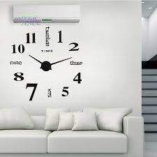 europe simple ideas new quartz huge wall clock modern home