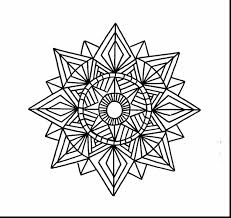 extraordinary geometric mandala coloring pages with geometry
