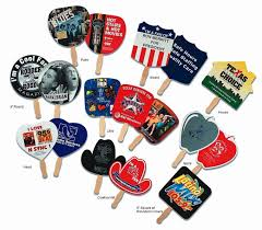 promotional fans custom printed stock shaped fans promotional stock fans