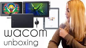 wacom intuos amazon black friday wacom unboxing intuos pro paper cintiq pro mobile studio pro