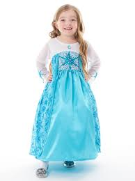 queen elsa inspired traditional ice princess dress machine