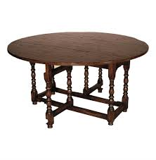 English Tudor Style by English Tudor Style Rustic Gate Leg Drop Leaf Dining Table Kathy