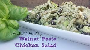 walnut pesto chicken salad in wealth u0026 health