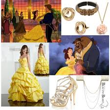 princess belle inspired polyvore