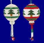 beaded ornaments key chains beaded tree ornaments