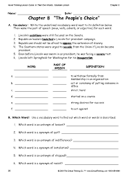 education world critical thinking worksheet grades 6 8 vocabulary