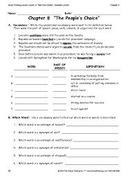 education world critical thinking worksheet grades 6 8 vocabulary