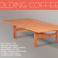 collapsible folding rv motorhome coffee table collapsible folding rv motorhome coffee table new oak ebay