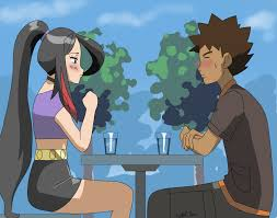 pkmn parents brock and lucy by starrynight32 on deviantart