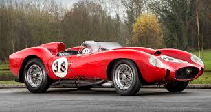golden ferrari price tom hartley sells 1957 ferrari testa rossa for world record price