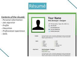 job application toeic presentation