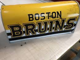 boston bruins home decor boston bruins mailbox