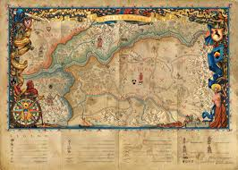 Why Do Western Maps Shrink by The Witcher 3 Image The Beautiful Map Included In All Physical