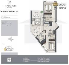 fountain views 3 floor plans