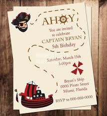 pirate themed birthday party invitations stephenanuno com
