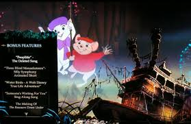 Three Blind Mouseketeers Disney U0027s The Rescuers U0026 The Rescuers Down Under Save The Day