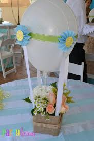 Balloon Decoration For Baby Shower Boy U0027s Air Balloon Party Theme Spaceships And Laser Beams
