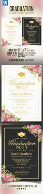 graduation invite best 25 graduation invitation cards ideas on