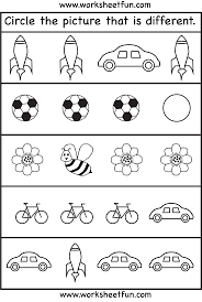 easy worksheets for kindergarten worksheets