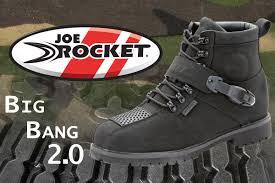 joe rocket u0027s new motorcycle boots make a u0027big bang u0027 chaparral