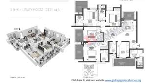 floor plans 9999913391 godrej summit signature homes sector 104