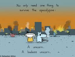 how to survive the apocalypse art print 15 sebastien millon