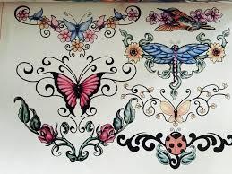 professional tattoo flash magazine book a4 40 page sketch tattoo