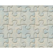 as creation jigsaw pattern wallpaper metal faux effect puzzle 327032