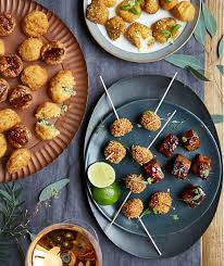 m and s canapes vegetarian gluten free food m s