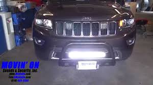 jeep grand cherokee front grill jeep grand cherokee led lighting youtube