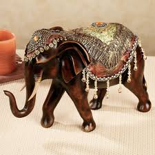 bejeweled elephant table sculpture resin table foyers and room