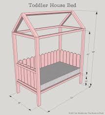 Toddler Floor Plan by Diy Toddler House Bed