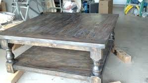 farmhouse end table plans farm table coffee table andreuorte com