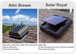 solar attic ventilation