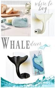 where to buy coastal beach whale decor