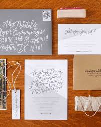 14 geometric wedding invitations with an edge martha stewart