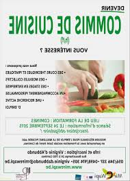commis de cuisine emploi formation commis de cuisine meilleur de formation pour demandeurs