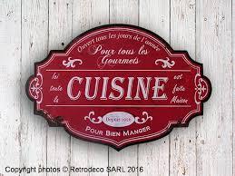 panneau cuisine panneau décoratif cuisine déco brocante antic line