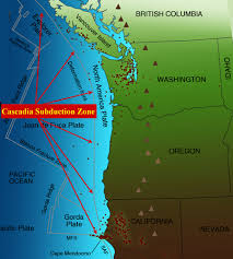 physical map of oregon juan de fuca plate breaking news currently monitoring high volume earthquake zones