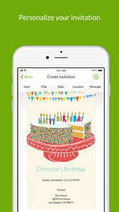 online invitations with rsvp evite online invitations on the app store