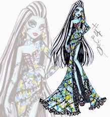 hayden williams fashion illustrations monster high u0027all stitched