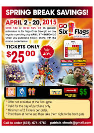Six Flags Promo Code 2015 Patricia Shouls Currently Has Discounted Six Flags Tickets For
