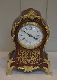 Metal Mantel Clock French Tortoiseshell And Brass Inlay Mantel Clock C 1890 France