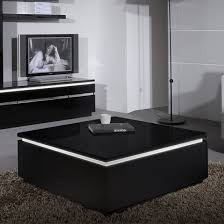 Square Black Coffee Table Store Black Gloss Furniture