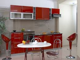 red kitchen cabinets red and gray kitchen cabinets red and white
