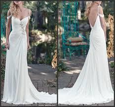 cold shoulder wedding dress saxton chiffon ivory sheath wedding dresses 2016 ruched sweetheart