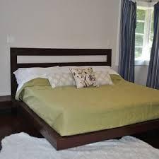 Bamboo Platform Bed Bedroom Exotic Bamboo Platform Bed With Bamboo Headboard Design