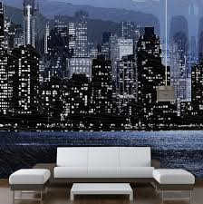 New York Themed Bedroom Decor Beautiful Décor Mural New York Pictures Transformatorio Us